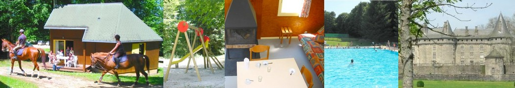 All year round cottage renting in Pompadour in the middlands of France : Corrèze, Limousin